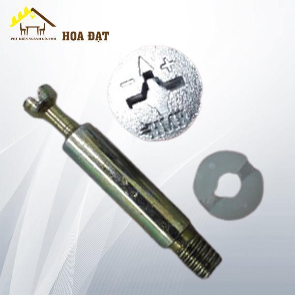 Bộ ốc liên kết cốt 42mm ren nhuyễn màu trắng SP2208318 (Bộ)