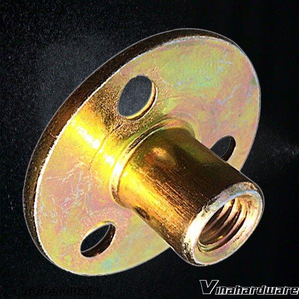Pát sắt tròn đồng tiền M8 CB37I