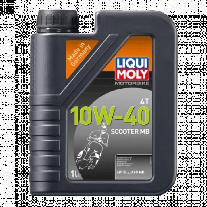 Dầu nhớt động cơ xe máy 4T 10W40 Scooter MB Liqui Moly 20832 1L