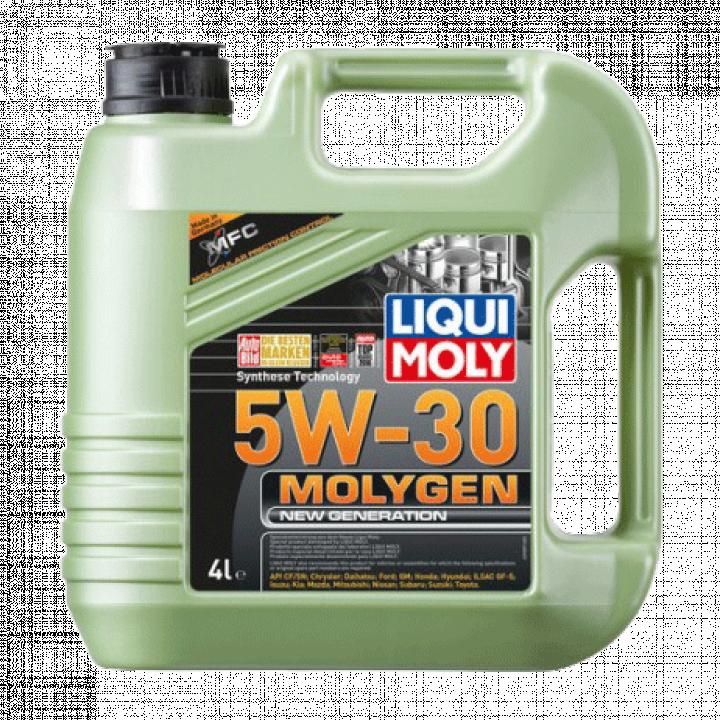 Dầu nhớt động cơ ô tô MOLYGEN 5W30 Liqui Moly 9089 4L