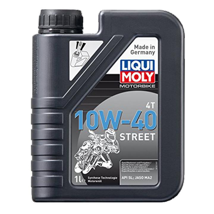 Nhớt xe máy Liqui Moly 4T SYNTHETIC 10W40 Street 1521