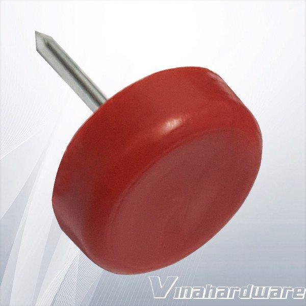 Đinh nhựa 10mm đế tròn 5x15mm DN205