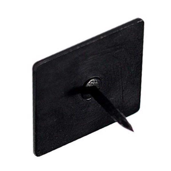Đinh vuông nẹp trang trí sơn đen tĩnh điện ND25