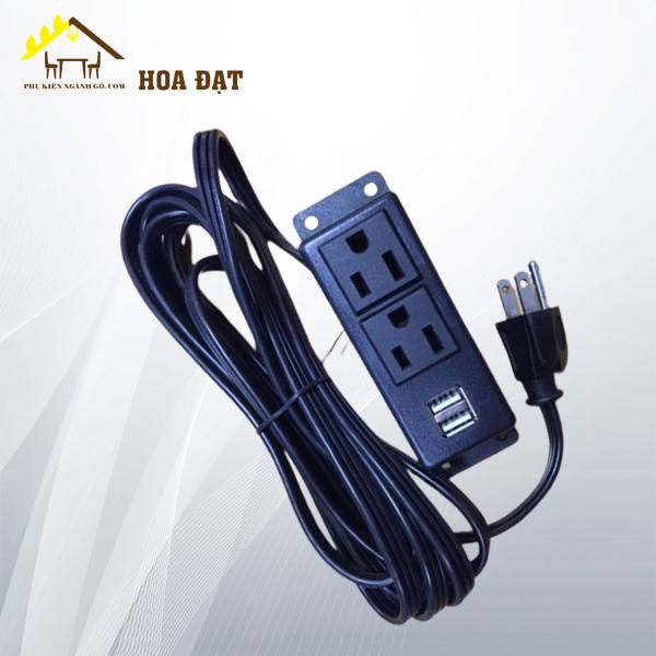 Ổ căm điện tích hợp USB (Loại 1) SP2923512 (Cái)