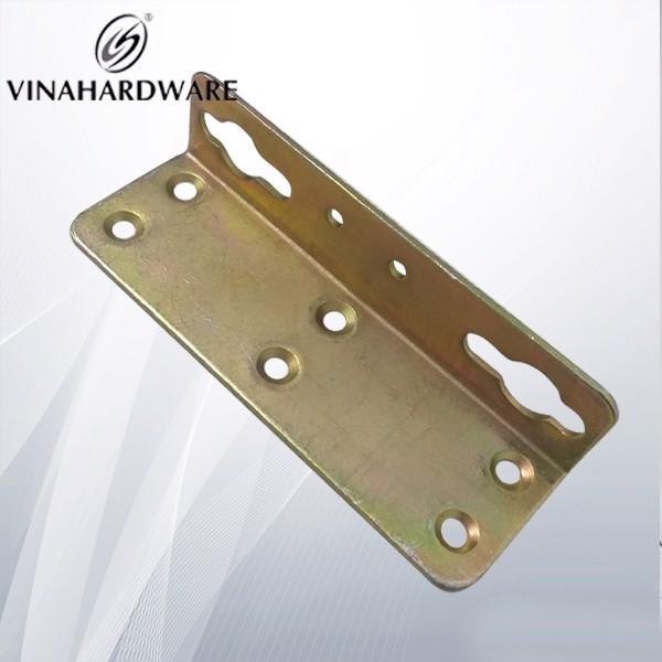 Pát sắt giường 130x45x31mm dày 2mm bảy màu P8297S130