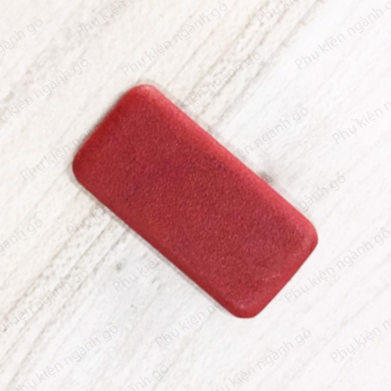 Pát (Bas) nhựa màu đỏ 15x30mm dày 3mm BP1530