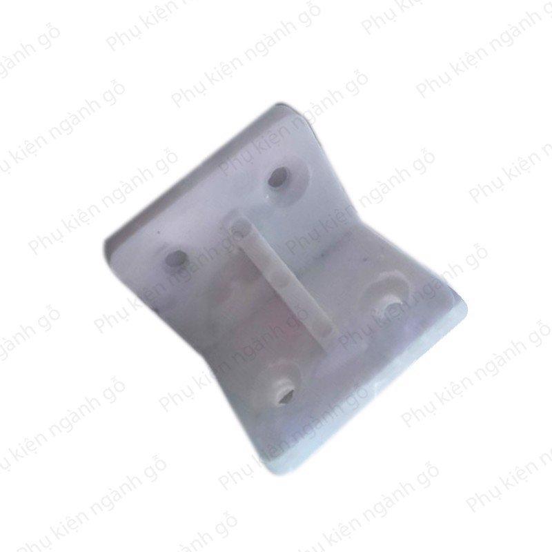 Pát nhựa vuông 30x35mm màu trắng P3035NT