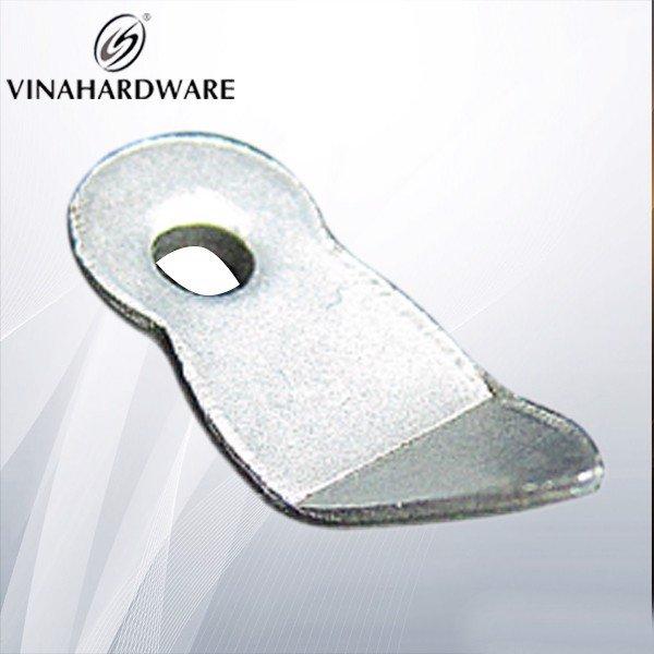 Pát sắt hạt dưa loại cong gài khung tranh 25mm P2420
