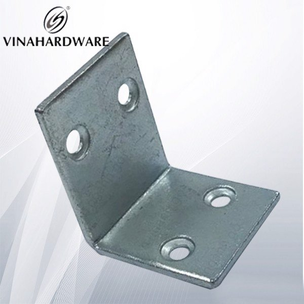 Pát sắt (bas) ke vuông 4 lỗ 36x44 màu trắng BV2020Z (Cái)
