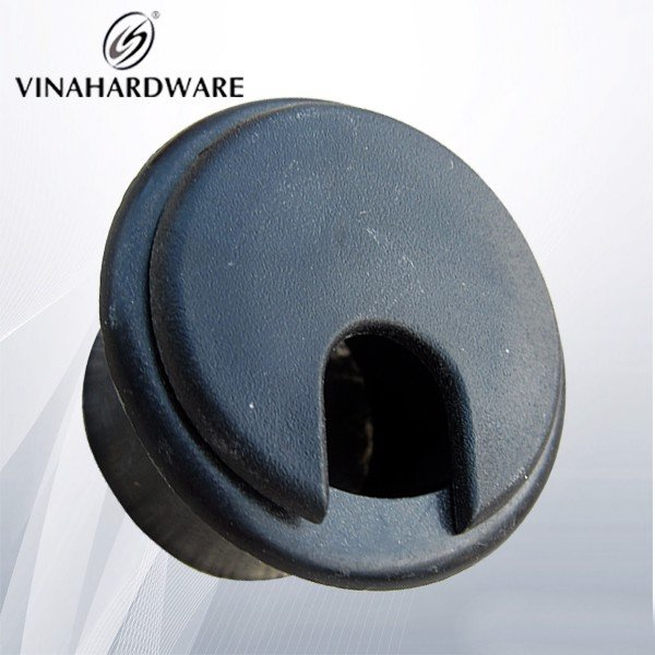 Nắp luồn dây điện nhựa màu đen (nhiều loại) W50B