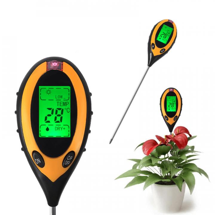 Thiết bị đo pH, nhiệt độ đất HM058