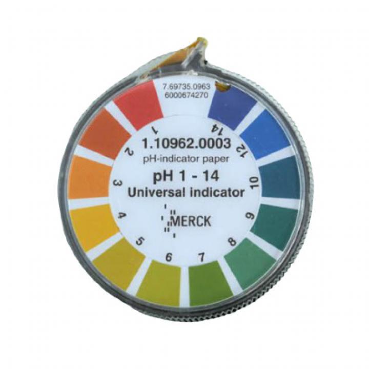 Giấy đo pH 1-14 Merck MEK+1109620003 4,8m/cuộn