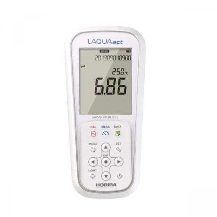 Máy đo pH/ORP cầm tay, Horiba D-72G