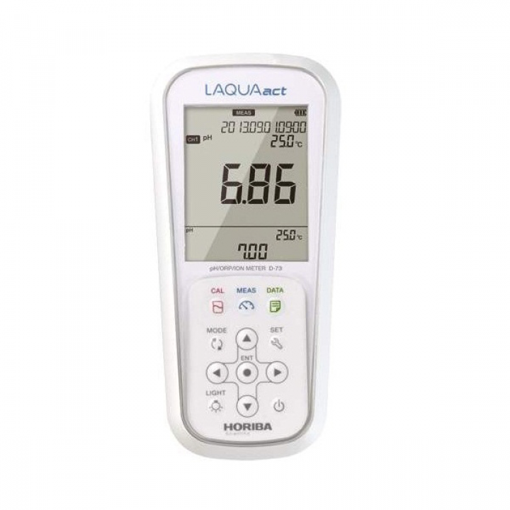 Máy đo pH/ thế ôxy hóa-khử (ORP)/ nồng độ ôxy hòa tan (DO) cầm tay Horiba D-75G