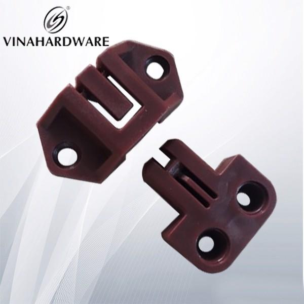 Chốt khóa nhựa cánh cửa nâu SP286300