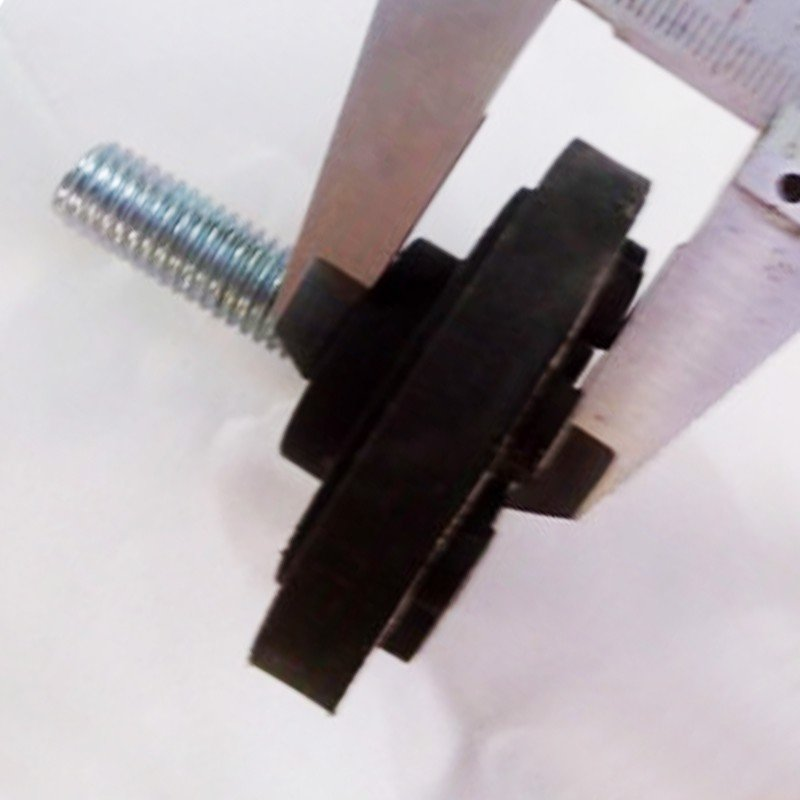 Chỉnh chân bàn đế cao su đế 56x20mm TA1023B