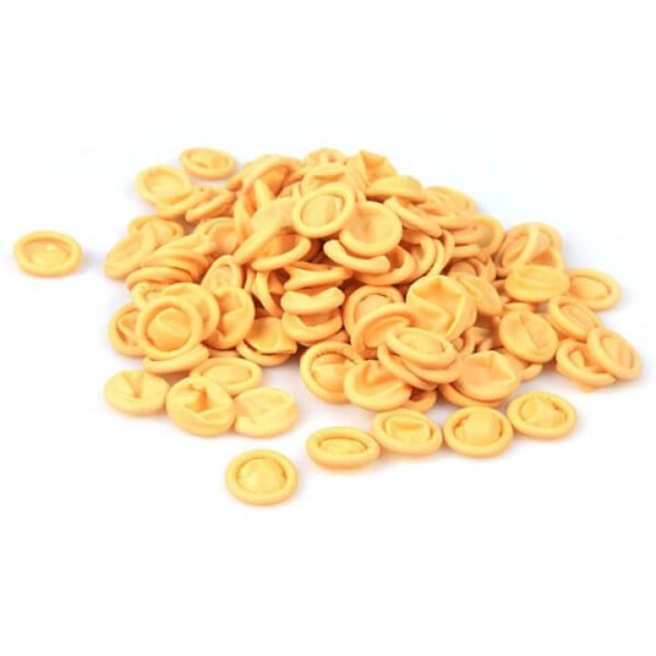 Bao ngón chống tĩnh điện có đai - màu vàng 500g/túi