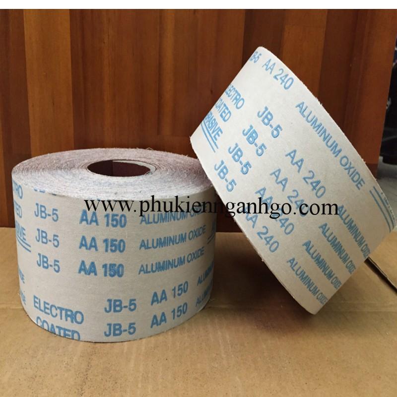 Nhám vải đánh bóng khổ rộng 100mm dài 45m CSP60