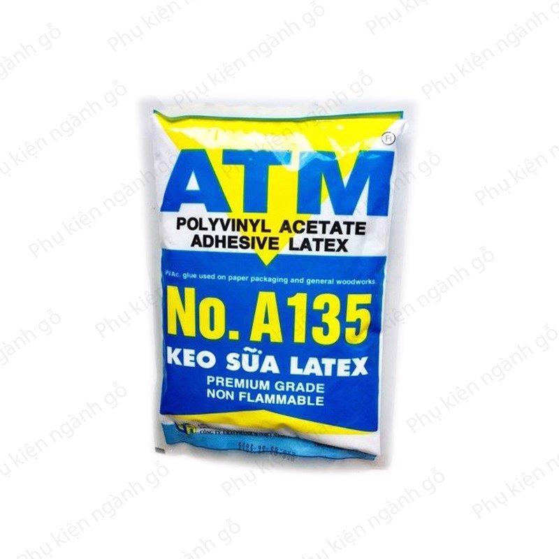 Keo sữa dán gỗ dán tường Latex ATM GATM (Bịch 1kg)
