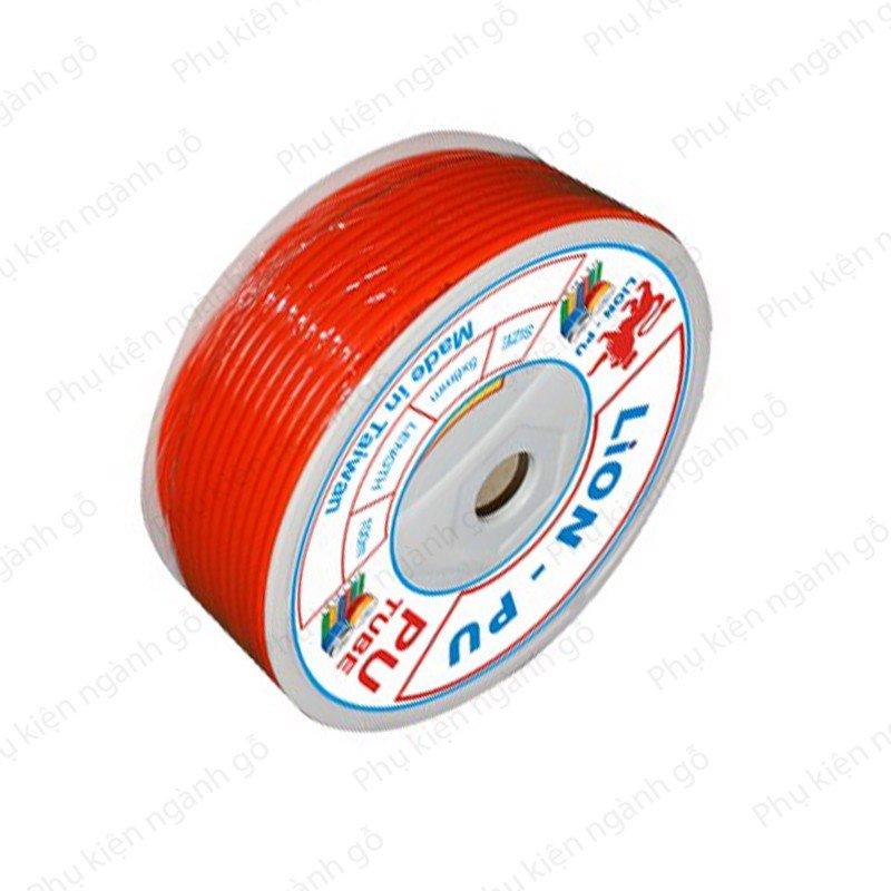 Dây ống hơi màu cam phi 8mm (nhiều kích thước) DH06O (cuộn)