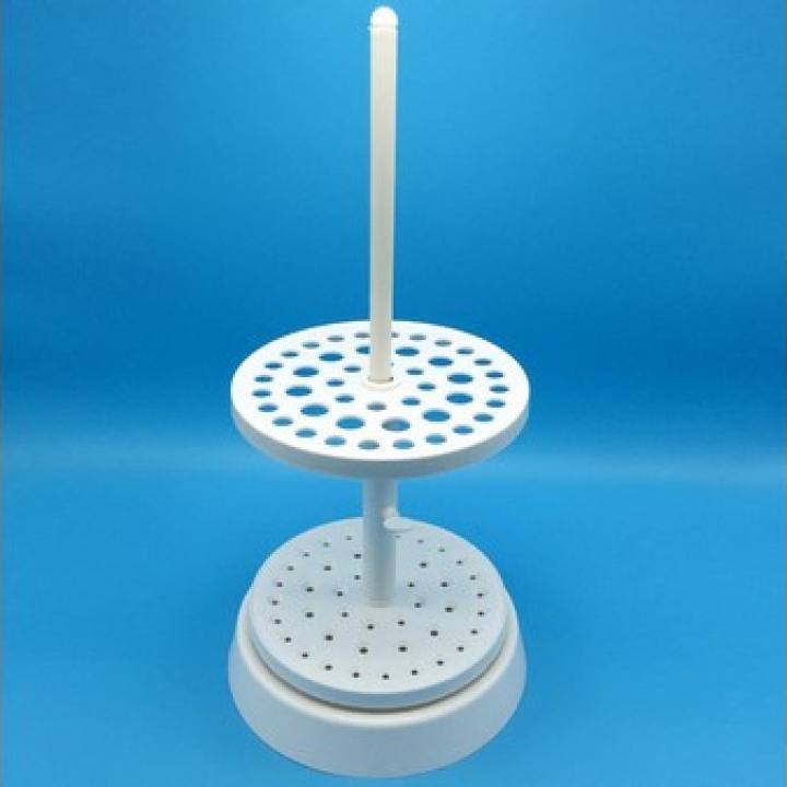 Giá pipet nhựa tròn