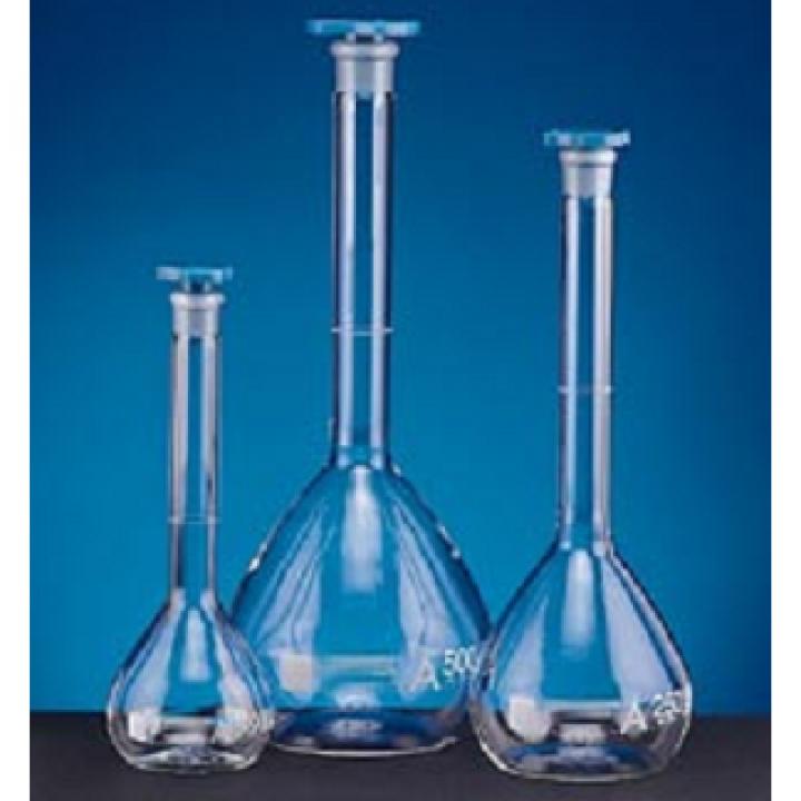 Bình định mức trắng nút nhựa class A Onelab 25ml