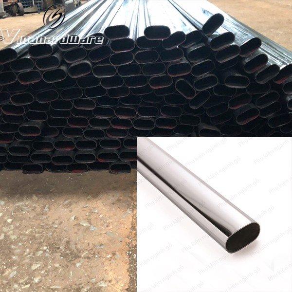 Sắt ống oval 30x60mm làm chân bàn ghế ovan SP286121