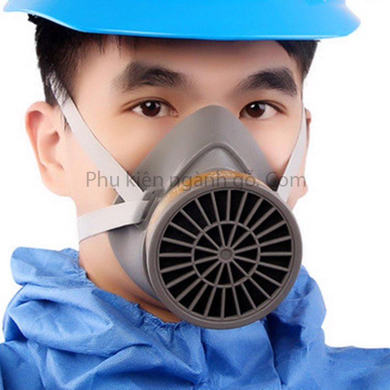 Mặt nạ khẩu trang phòng chống bụi  phun sơn phòng độc SP000187