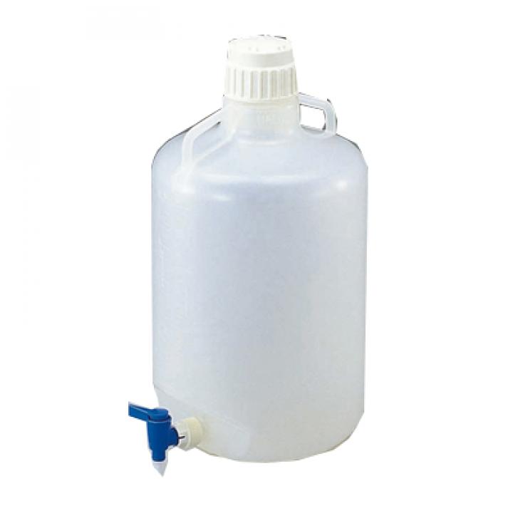 Bình nhựa có vòi HDPE Dinlab 50L