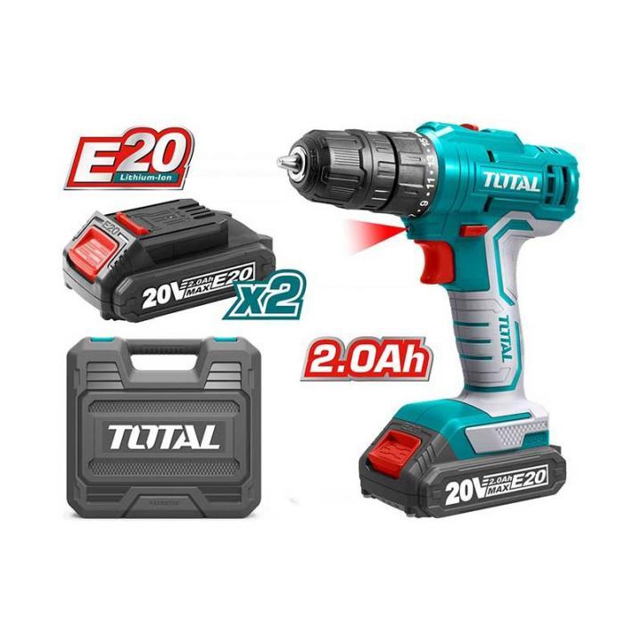 Máy khoan dùng pin Lithium E20 Total TDLIE2001
