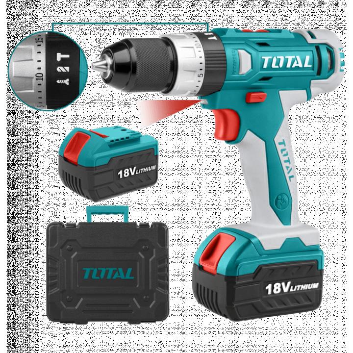 Máy khoan bê tông dùng pin li-ion Total TIDLI228180 18V