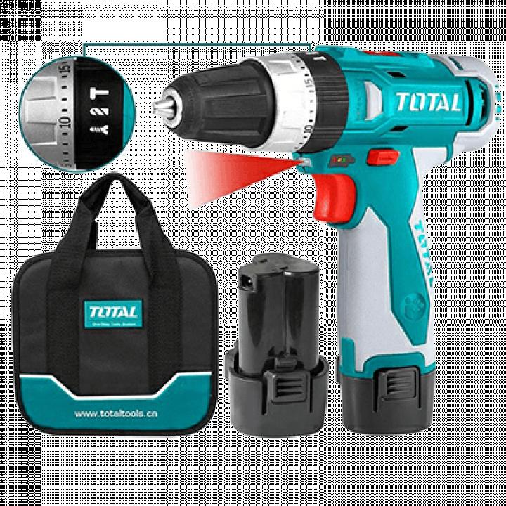 Máy khoan búa dùng pin Total TIDLI228120 12V
