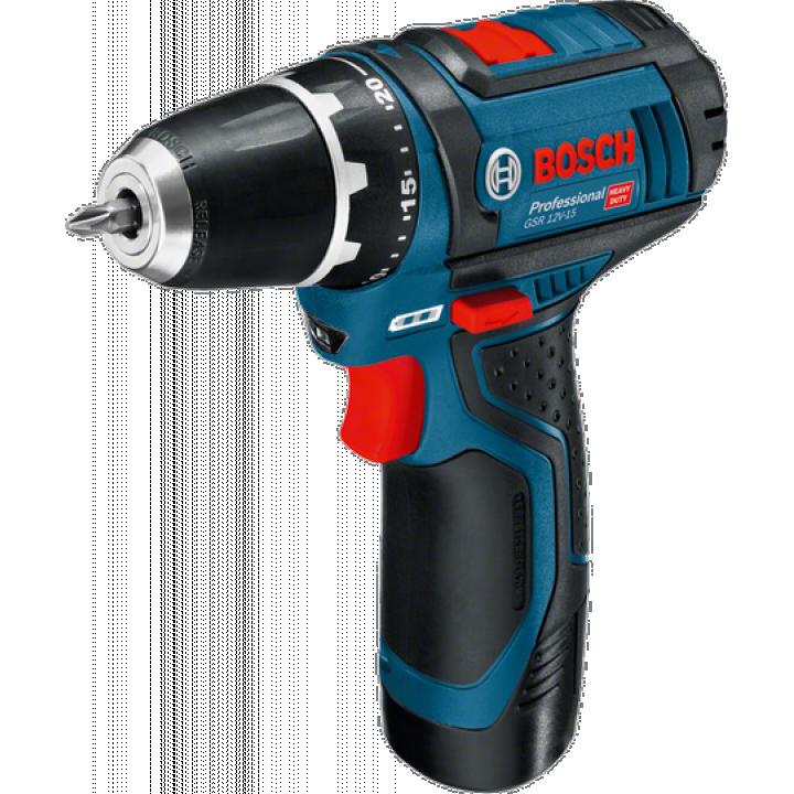 Máy khoan vặn vít dùng pin Bosch GSB 10.8-2 LI (10.8V)