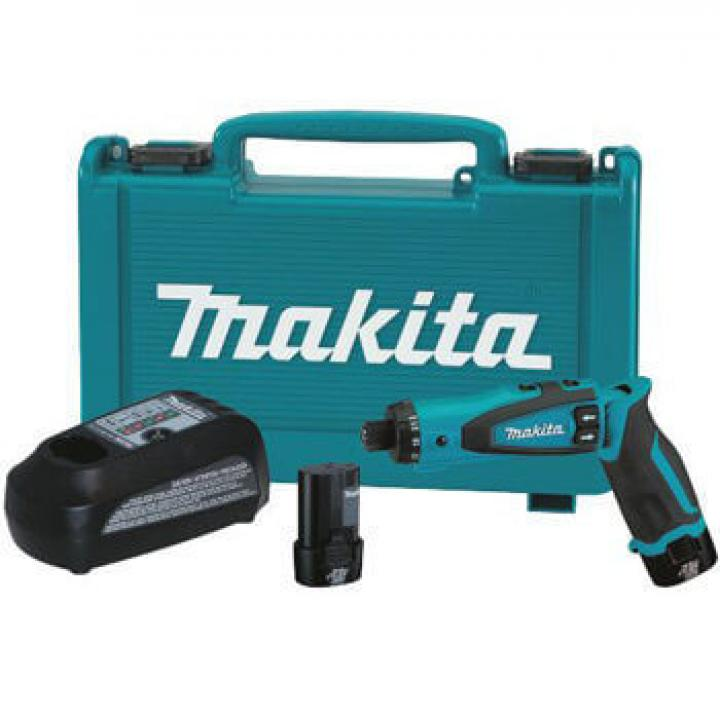 Máy khoan vặn vít dùng pin Makita DF010DSE