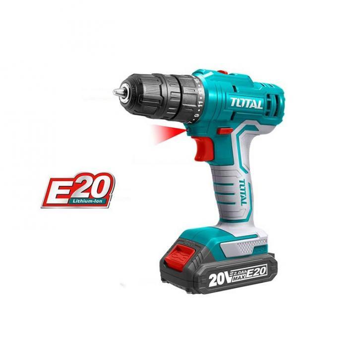 Máy khoan dùng pin Lithium E20 Total TDLIE20011