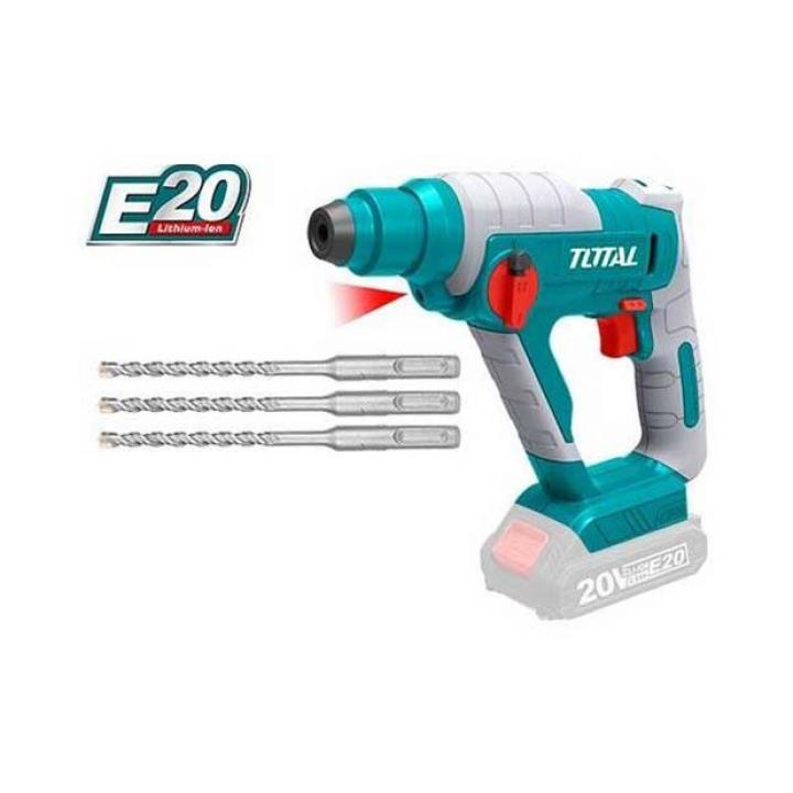 Máy khoan đục dùng pin Lithium E20 Total TRHLIE2001
