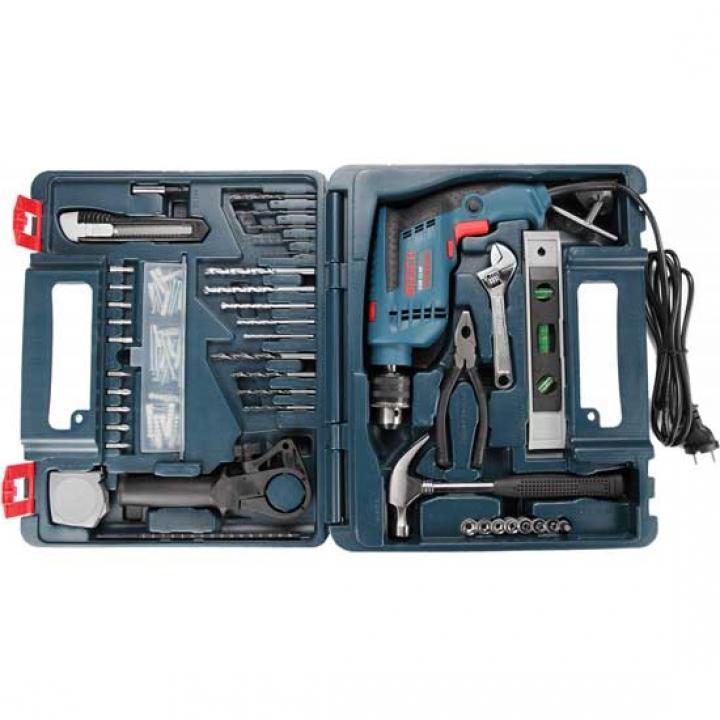 Bộ máy khoan động lực Bosch GSB 13 RE (full set, hộp nhựa)