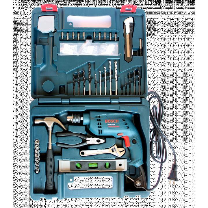 Bộ máy khoan động lực Bosch GSB 10RE SET