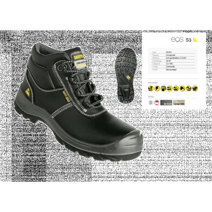 Giày bảo hộ lao động Safety Jogger EOS S3 ESD