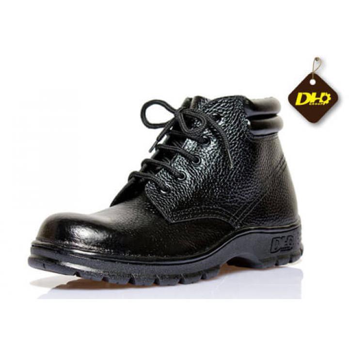 Giày bảo hộ lao động lao động DH-group cao cổ da sần