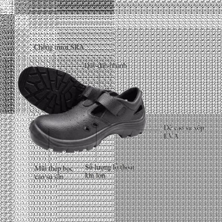 Giày bảo hộ BATA Sandal lỗ thoáng