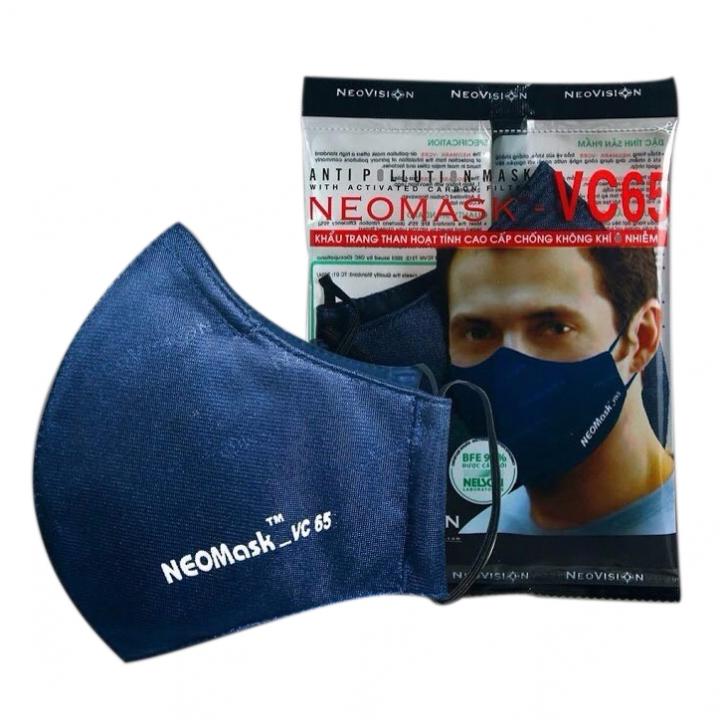 Khẩu trang chống bụi mịn PM2.5, Virus than hoạt tính NeoMask VC65
