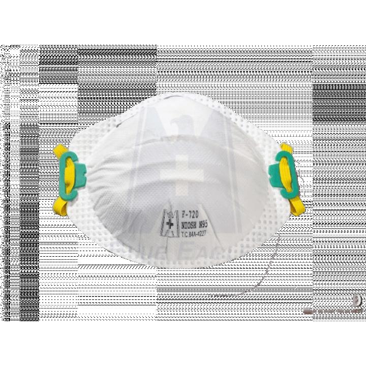 Khẩu trang chống bụi mịn PM2.5 NIOSH N95 Blue Eagle F720 ( hộp 20 cái )