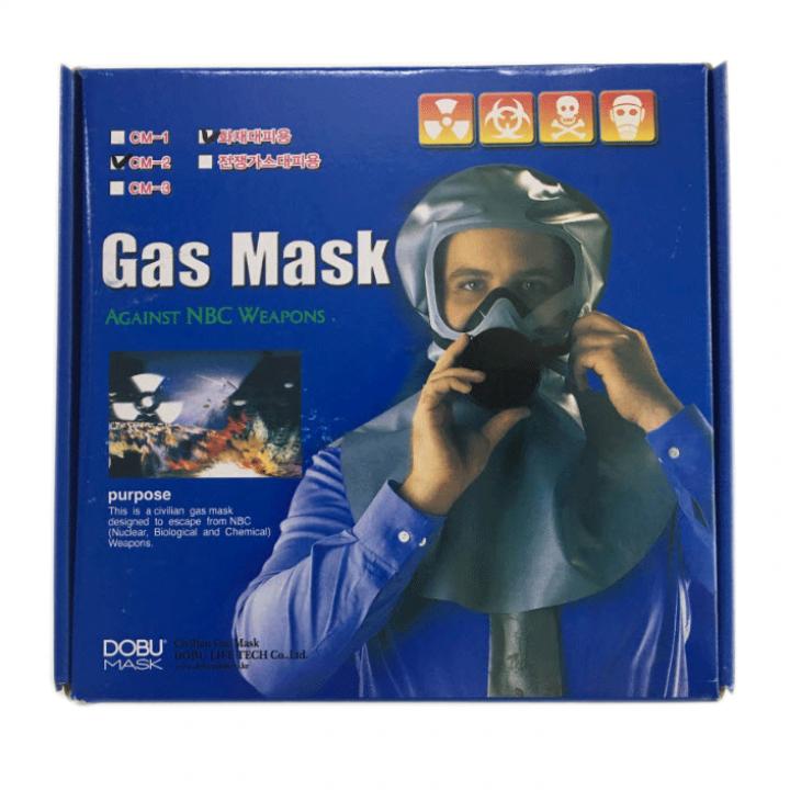 Mặt nạ phòng độc Dobu Hàn Quốc CM-2 chống khói thoát hiểm