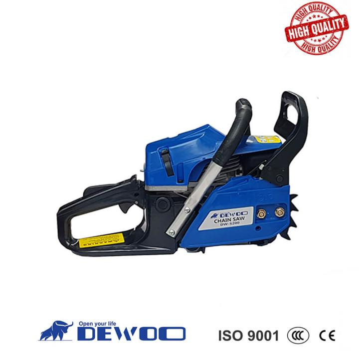Máy cưa xích (xăng) DEWOO DW-5200
