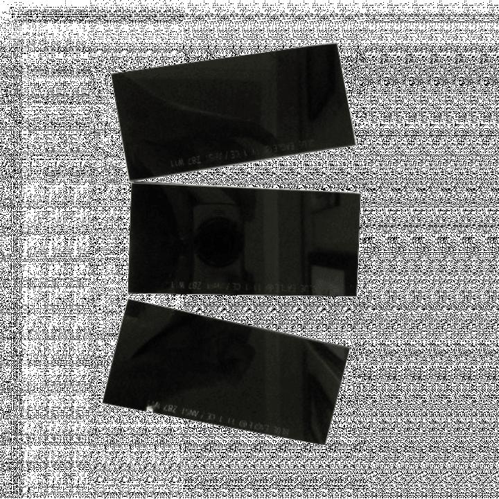 Miếng kính hàn màu đen Blue Eagle 633-11