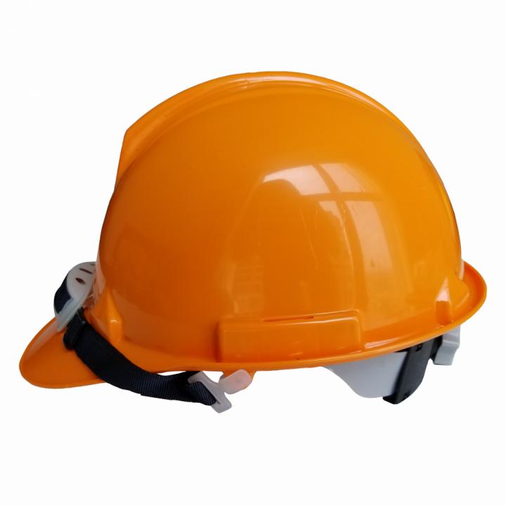 Nón bảo hộ lao động (có nút vặn) Thuỳ Dương N20 cam