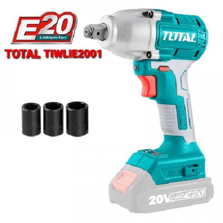 Máy siết buloong dùng pin Lithium E20 Total TIWLIE2001
