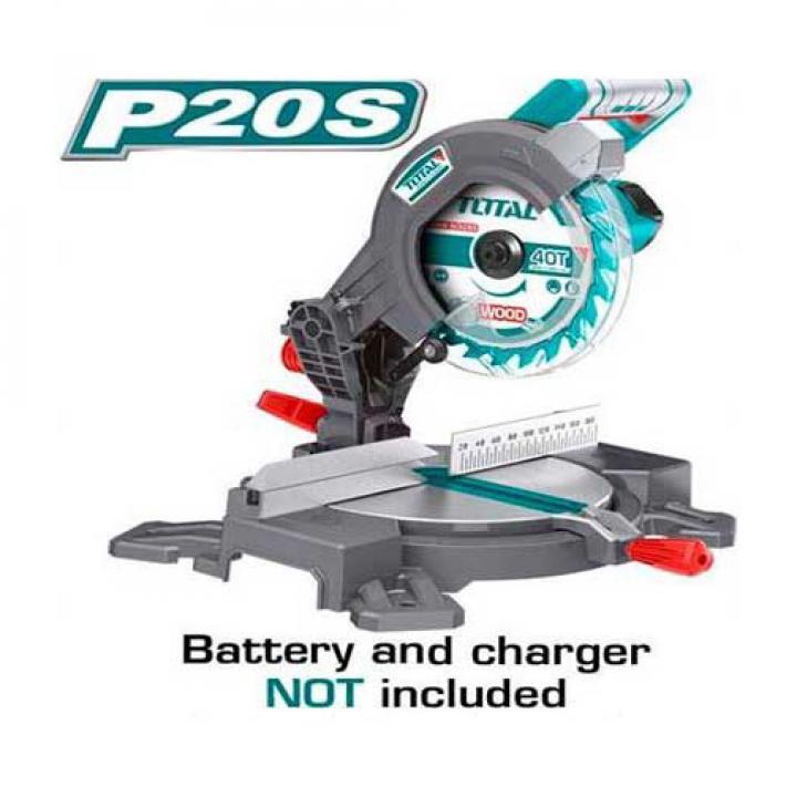 Máy cắt nhôm dùng pin Lithium 20V Total TMS2001