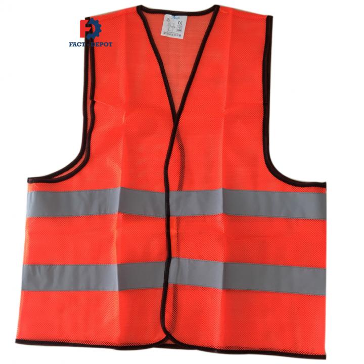 Áo phản quang Asafe 36102 (Đỏ cam)